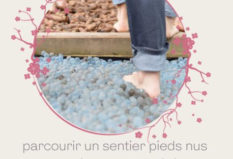 sentiers pieds nus